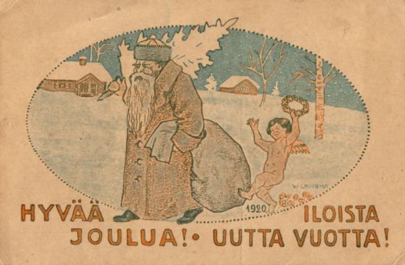 Wäinön joulukortti_1920