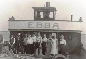 Oton Ebba-laivan kyydissä, tällä kertaa matkalla Kuopioon