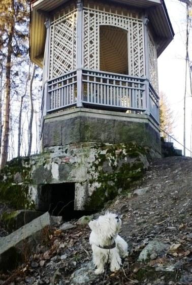 Huvimajan alla luolassa asui ennen kaksitoista tonttua.